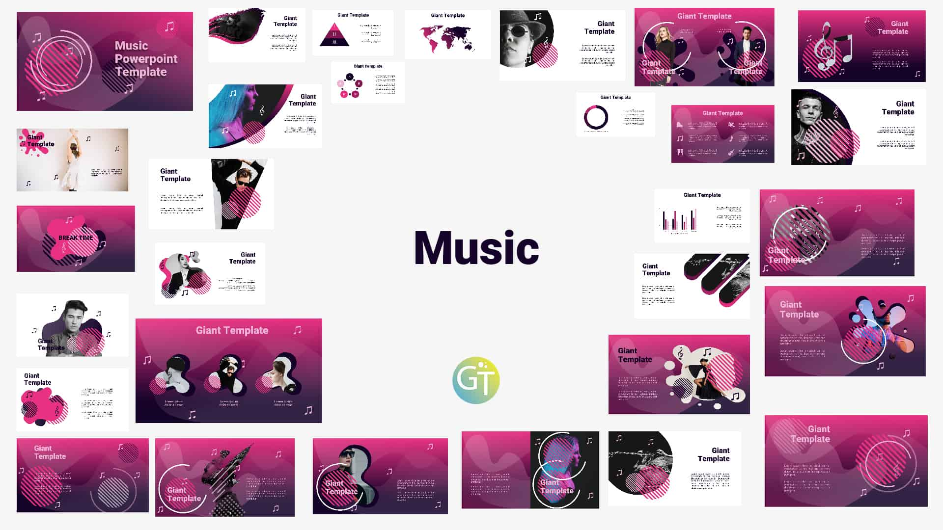 """I see my life in terms of music."""" ― albert einstein """"if i were not a physicist, i would probably be a musician. Music Free Powerpoint Template Free Powerpoint Templates Download Template Ptt"""
