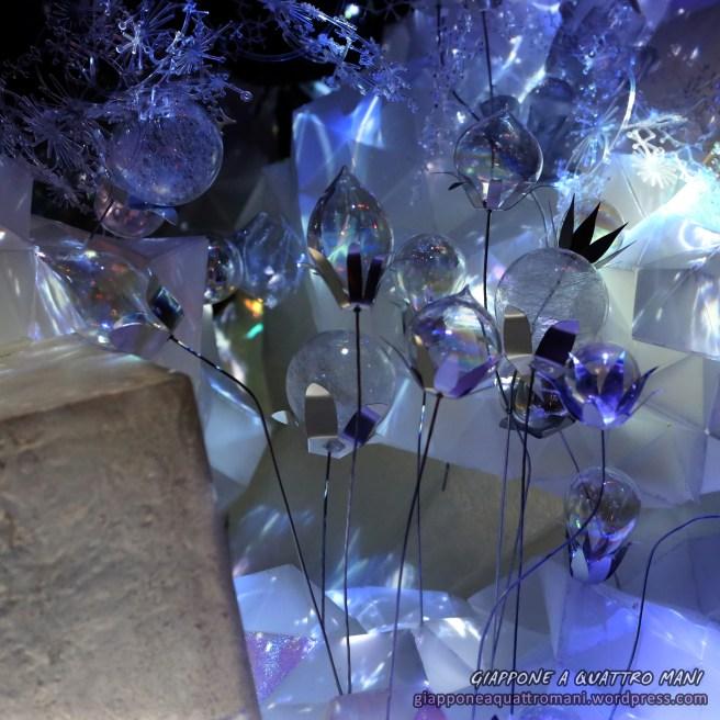Fiori di vetro e cristallo