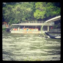 the transportation in the Gembira Loka Zoo