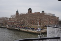 Ellis Island, the former imigration spot before immigrants can enter New York