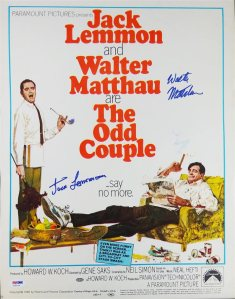 the-odd-couple-signed-movie-poster-with-jack-lemmon-and-walter-matheau-3