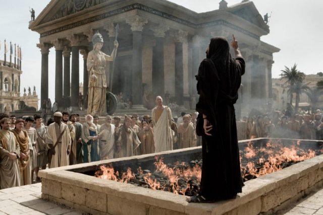 A Igreja Católica - A controvérsia político/religiosa causou violência e morte generalizadas