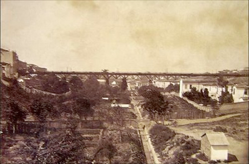 VIADUTO DO CHA – 1890