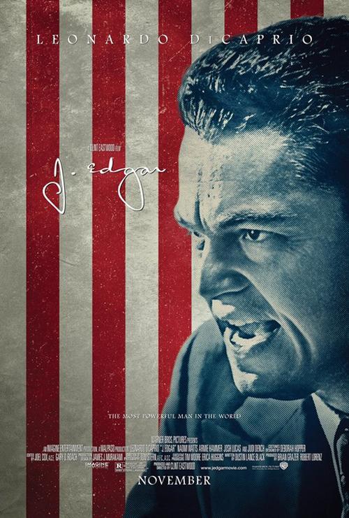 J. Edgar estreou Sexta Feira 27 de Janeiro de 2012
