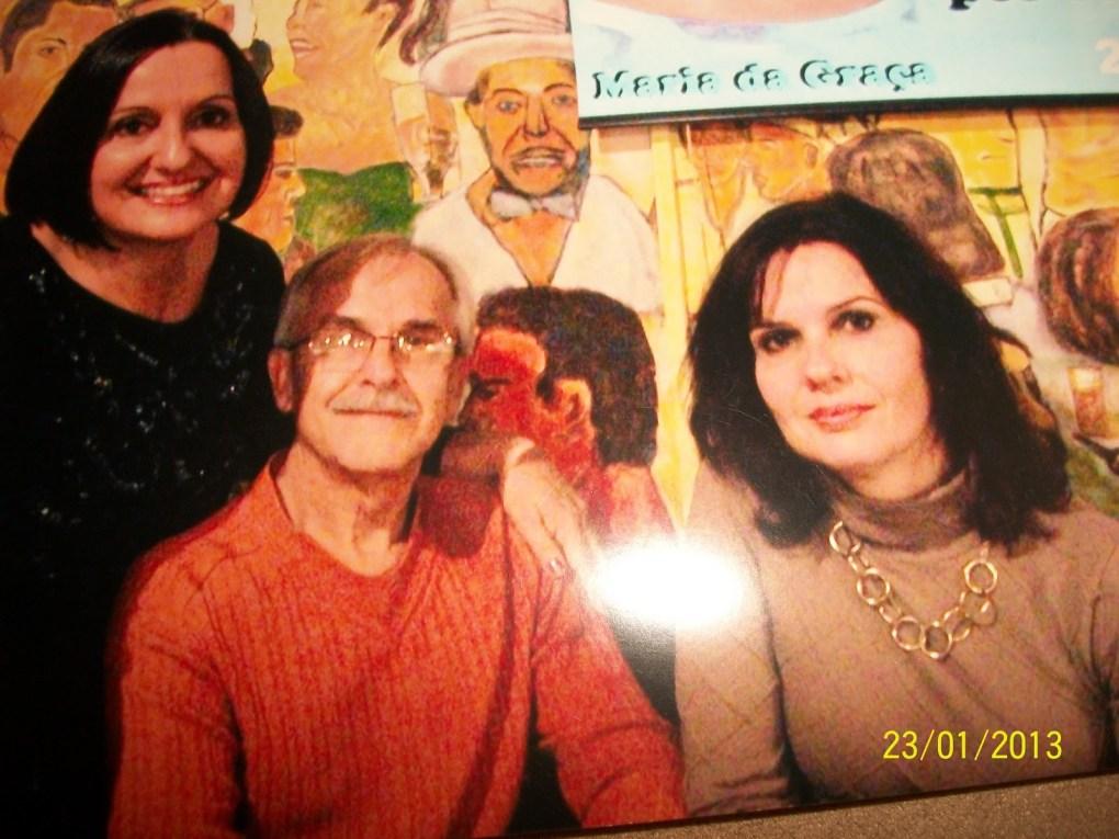 Maria, Renato e Isabel