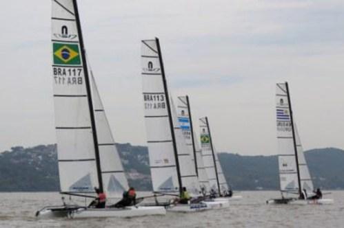 Brasil fica com o título do primeiro Sul-americano da classe Nacra17 16