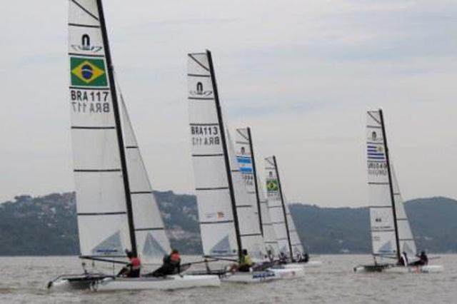 Brasil fica com o título do primeiro Sul-americano da classe Nacra17