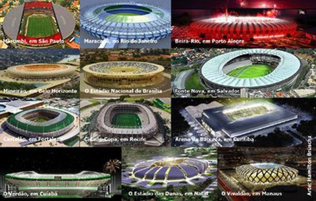 Estádios ou Coliseus