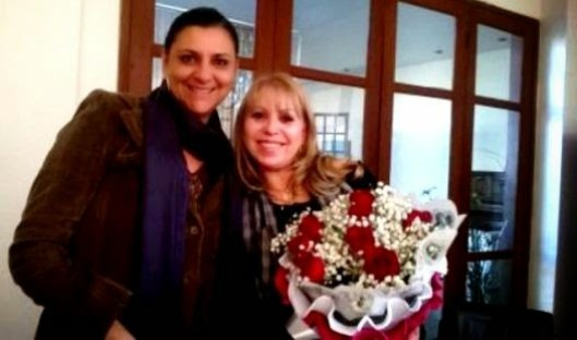 Empresárias  Tânia Lucho e Ilda Maria Schuck Sanches Silva