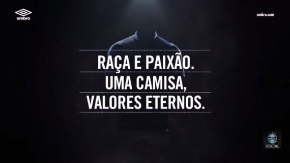 Umbro Exibe Detalhes da Nova Camisa do Grêmio