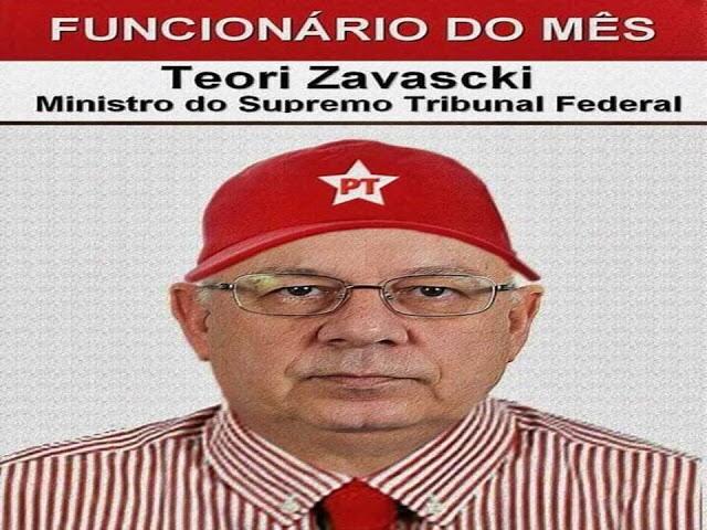 FUNCIONÁRIO DO MÊS Teori Zavascki