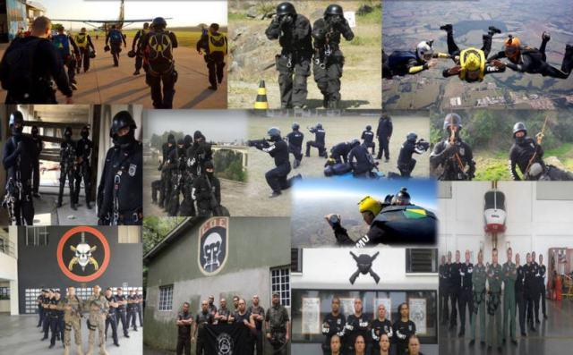A polícia militar mantém a segurança e a ordem pública, além de atuar na prevenção do crime. Ela é composta por policiais fardados de diversas patentes (cabo, tenente, soldado, etc) e está organizada nos moldes do exército.