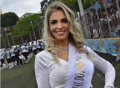 Fernanda Martinelli, Musa Brasileira do Futebol Americano 8