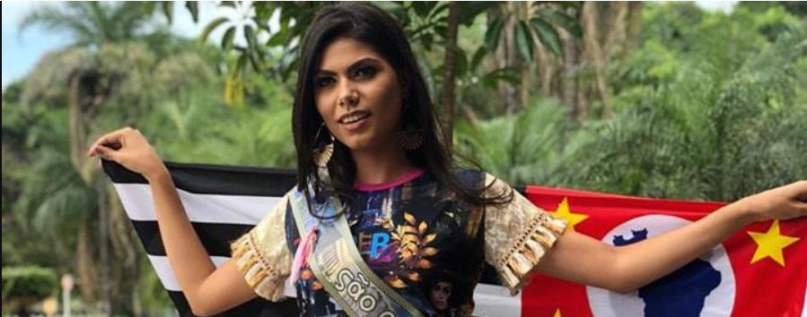 Miss Victória Ribeiro, Expressão de Beleza da Mulher Paulista 2