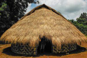 Traditional Grass Hut