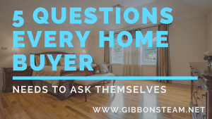 5 Questions Buyers Should Ask Themselves Before Buying a Home | Gibbons Team Real Estate www.GibbonsTeam.net