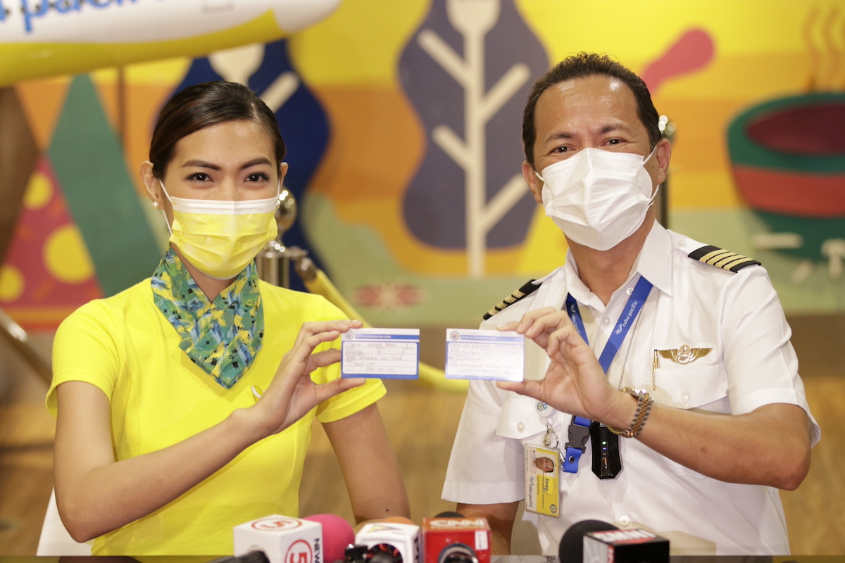 Cebu Pacific advocates safe travels with 58% of flying crew vaccinated