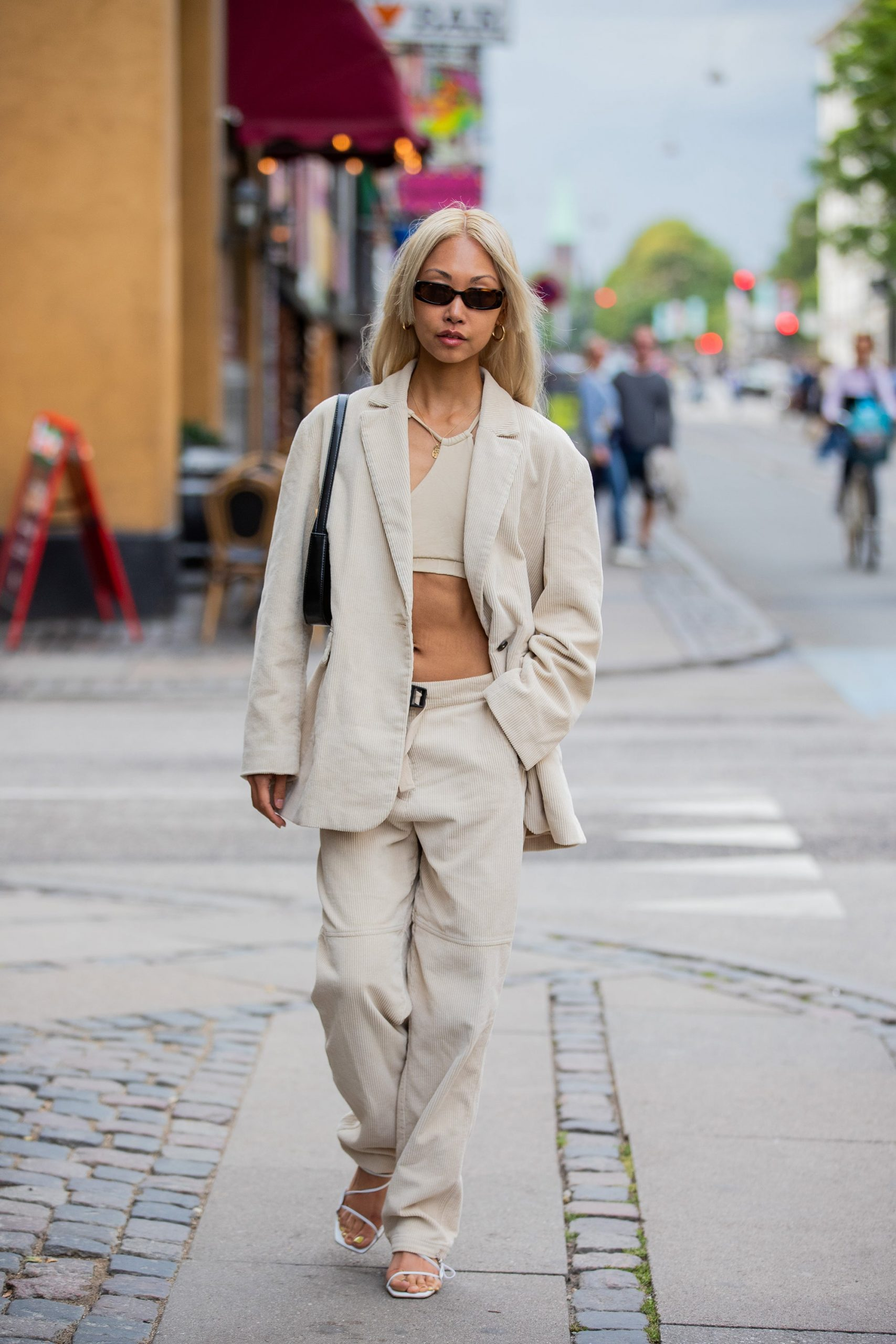 Suiting Stole The Show On The Streets At Copenhagen Fashion Week