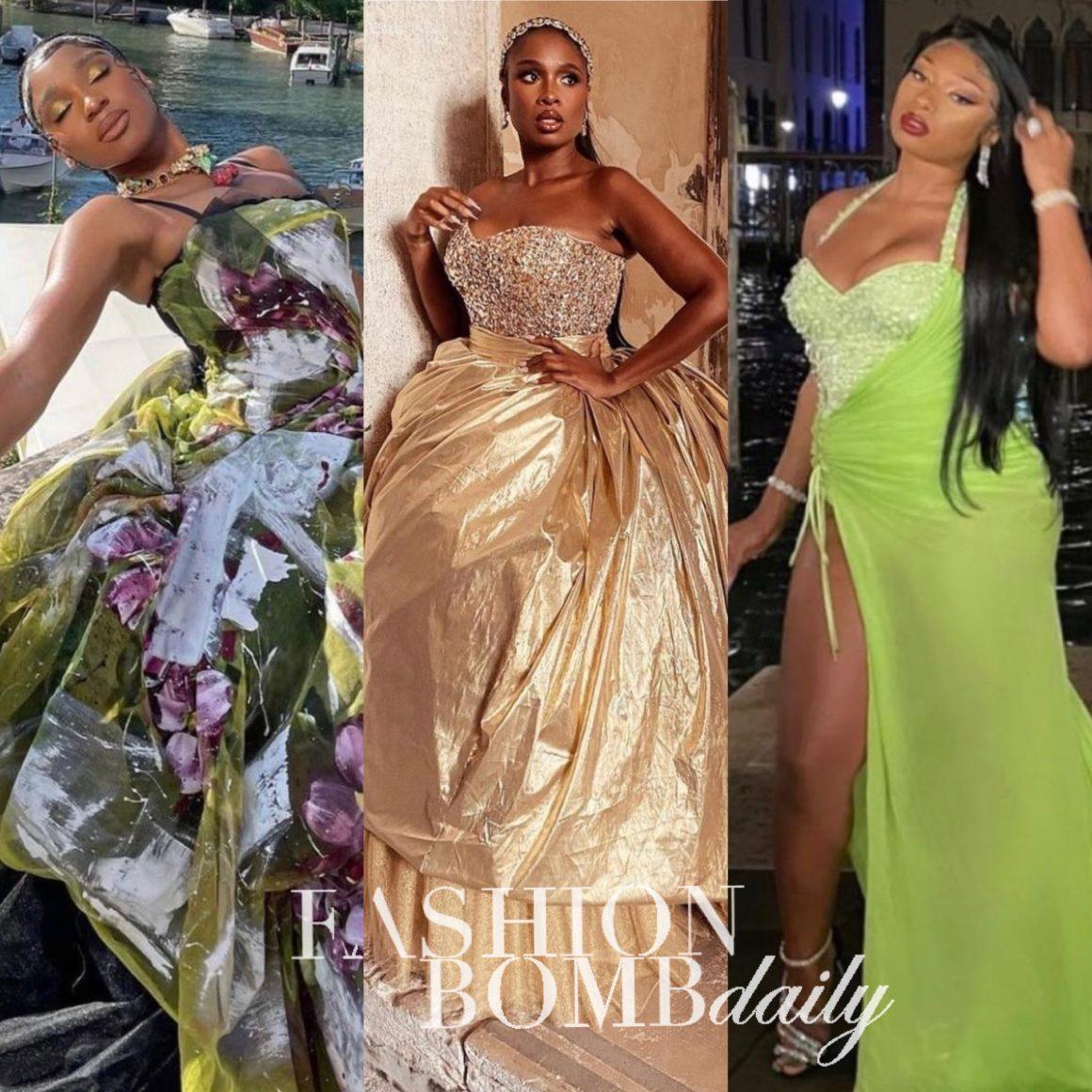 Dolce and Gabbana Debuts Atla Moda Collection With Runway Show in Venice, Italy With Appearances by Megan Thee Stallion, Doja Cat, Normani, the Combs Sisters, and More
