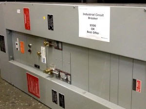 Weird Stuff industrial circuit breaker
