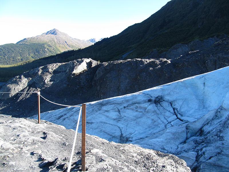 Exit Glacier near Seward, Alaska