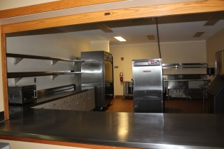 Northeast Park Event Space Kitchen