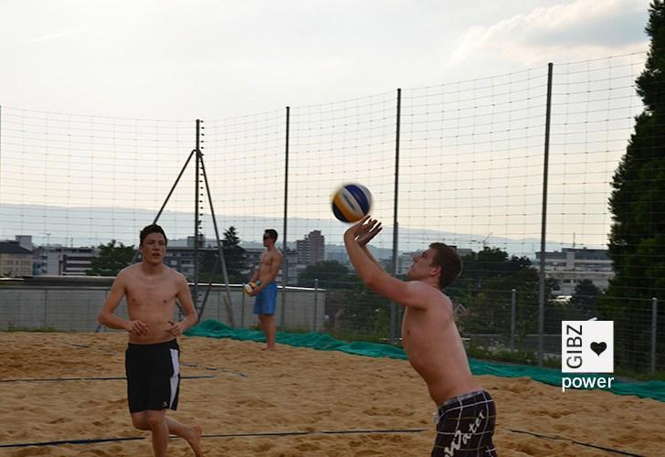 GIBZ-Beachvolley-Turnier 2014
