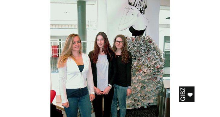 """""""The Journal Lady"""" – Kultur-Projektarbeit von Schülerinnen der Klasse ZT3"""