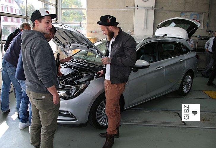 Auto des Jahres 2016 – das neue Schulungsfahrzeug im GIBZ!