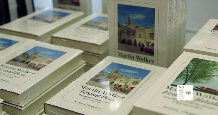 """Bruno, Chef de police, gab sich die Ehre – """"GIBZ im Gespräch"""" mit Bestsellerautor Martin Walker"""