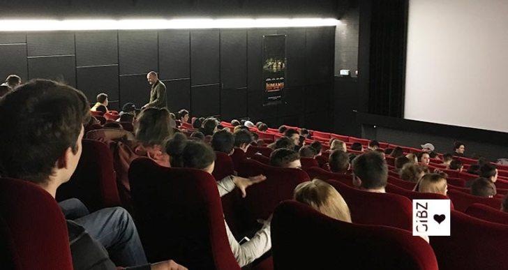 """Grosses Kino fürs GIBZ: Spezialvorführung von """"Human flow"""""""