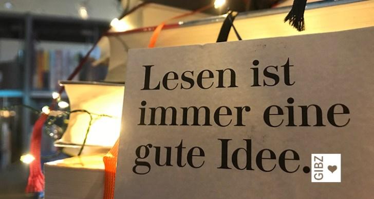 Lesen ist immer eine gute Idee…