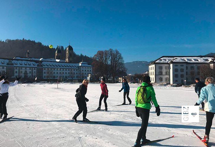Loipenfieber – Langlaufkurs Skating für GIBZ Mitarbeitende