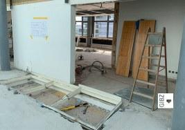 Nouvelle Cuisine#02 – die ÜK-Küche am GIBZ wird zur Ausbildungsküche umgebaut
