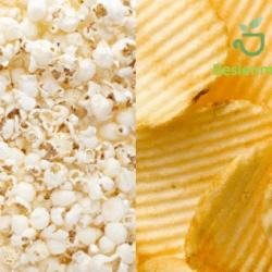 Patlamış mısır gerçekten cipse göre sağlıklı bir alternatif mi?