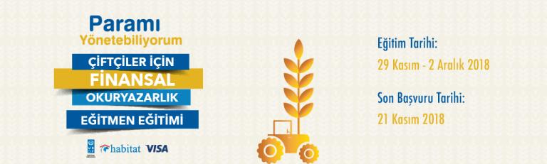 Paramı Yönetebiliyorum Çiftçiler için Finansal Okuryazarlık Eğitmen Eğitimi