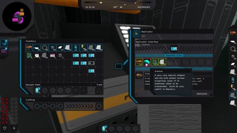 Exotic replicator