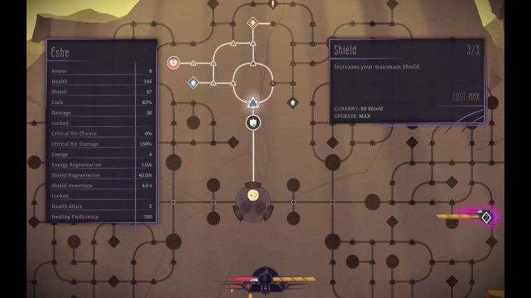 Sundered skill tree