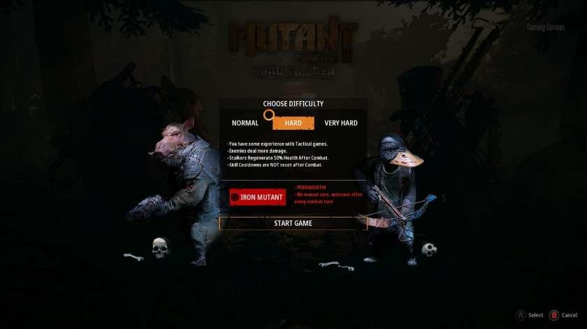 Mutant year zero difficulty
