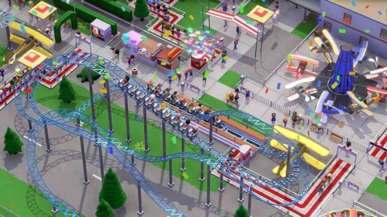 Parkitect theme park 4