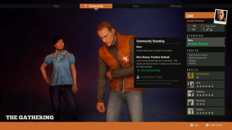 State of Decay 2 character