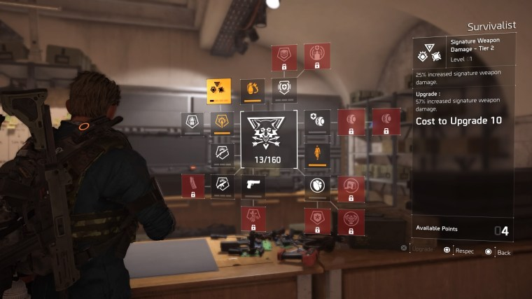 The division 2 classes