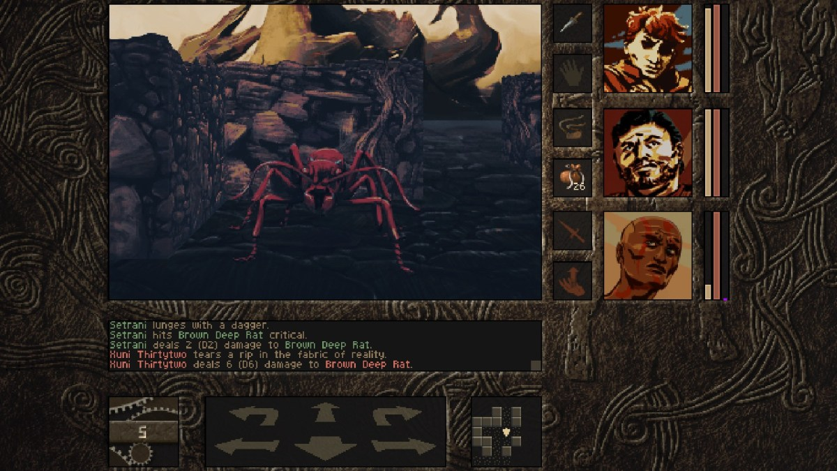 Aeons of sand Dungeon crawling ant