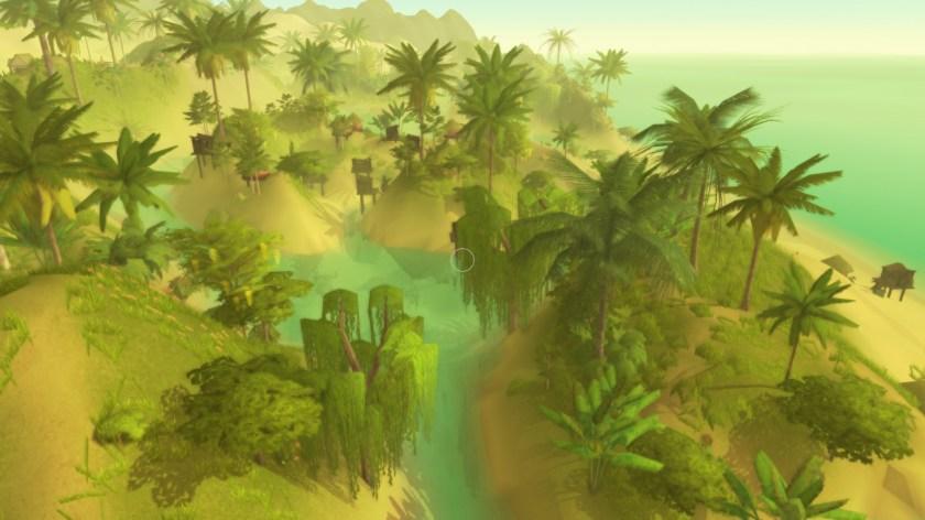 Tidal tribe island plantlife simulation