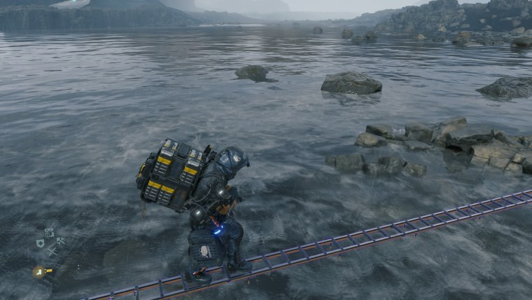Death Stranding river