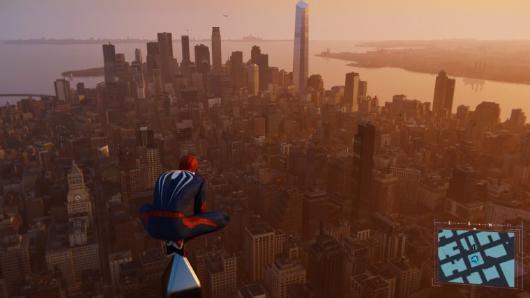 Spider-Man Game Of The Year edition awesome view