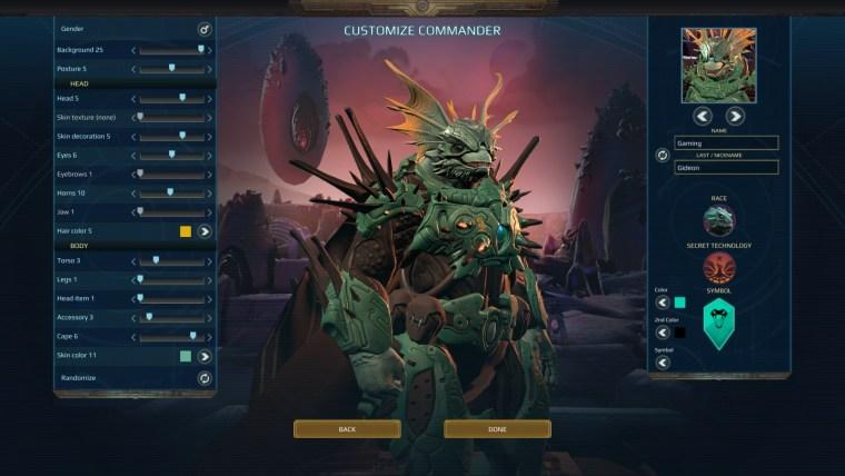 Plantefall: Invasions Shakarn Commander