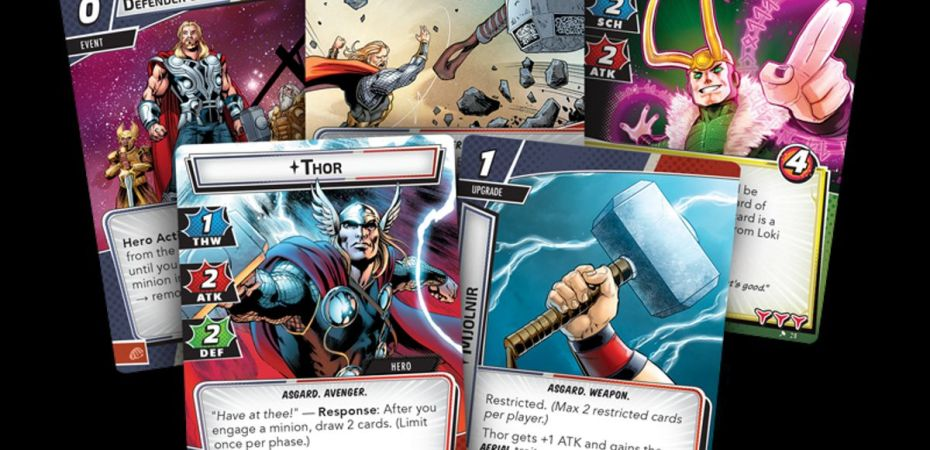 Marvel Champions Card Game Thor Hero Pack