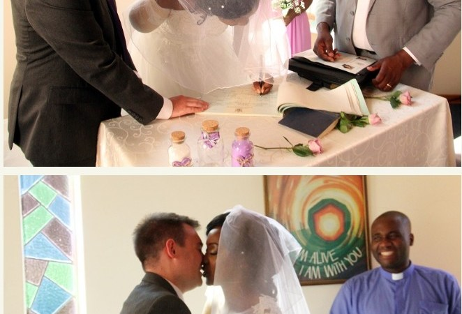 Zimbabwean Woman Marries Days After Her Arm Was Bitten Off By Crocodile (Photos)