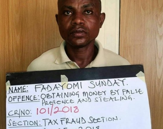 EFCC Arraigns Man In Oyo Over Stealing And Involving In N16m Fraud (Photo)